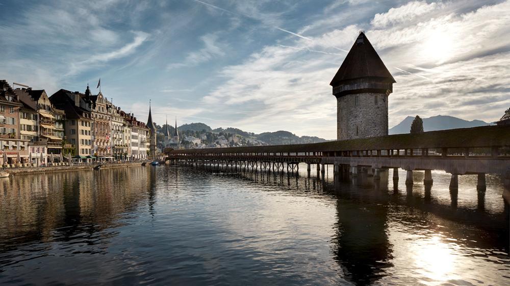 Luzern je hlavním městem stejnojmenného švýcarského kantonu.