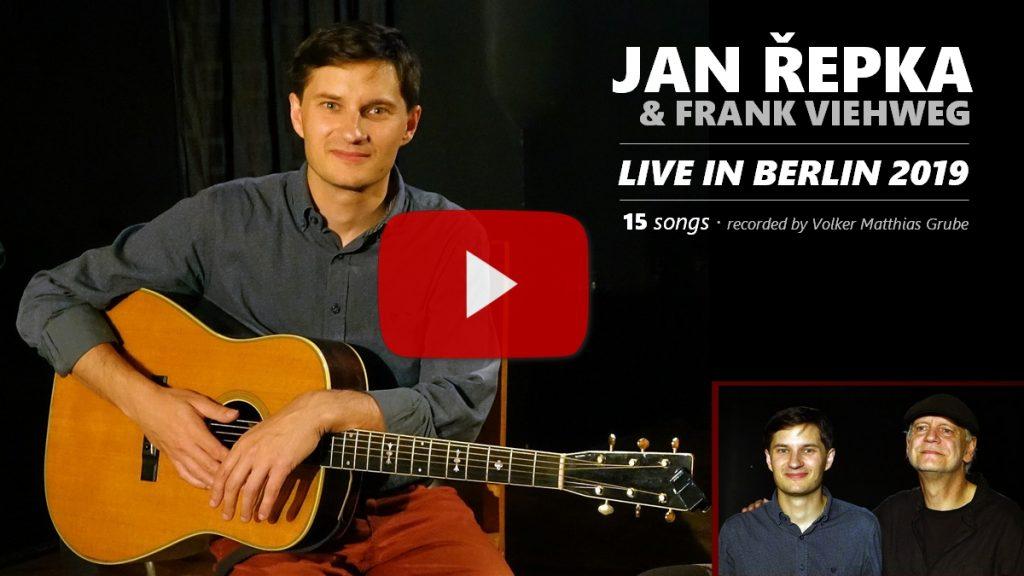 YouTube: Zkrácený záznam koncertu 22. 9. 2019 v Berlíně.